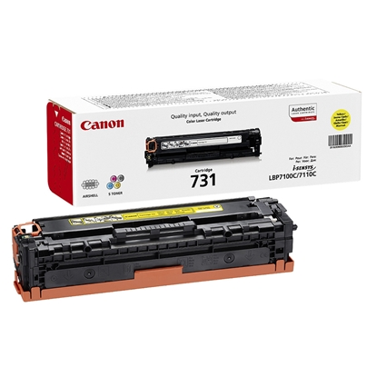 Picture of Canon Toner CRG-731, 1500 pages/5%, Yellow