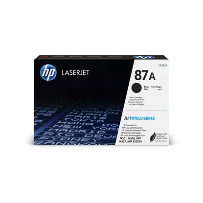 Picture of HP Toner CF287A, 9000 pages/5%, Black
