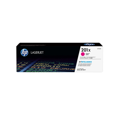 Picture of HP Toner CF403X, 201X, 2300 pages/5%, Magenta
