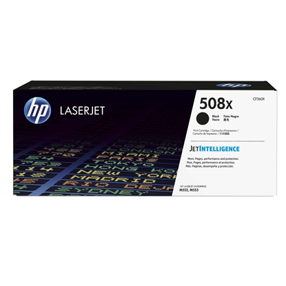 Picture of HP Toner CF360X, 12500 pages, Black