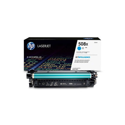 Picture of HP Toner CF361X, 9500 pages, Cyan