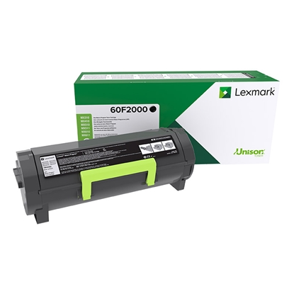 Picture of Lexmark Toner 60F2000, MX310/410/510/611, 2500 pages/5%