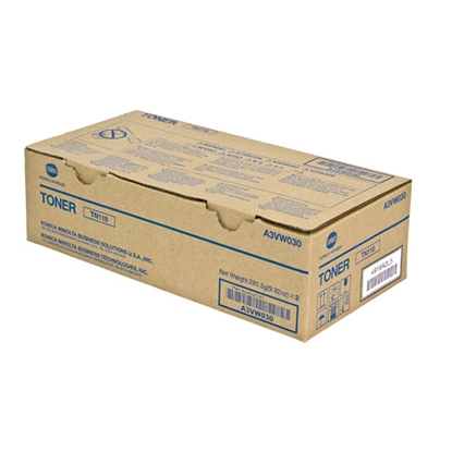 Picture of Minolta Toner A3VW050, TN118, 12000 pages/5%, 2 pcs.