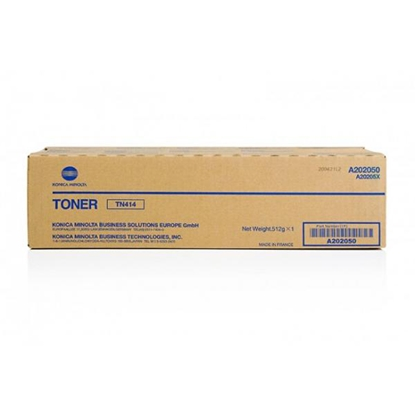 Picture of Minolta Toner TN-414, Bizhub, 363/423, 25000 pages/5%, Black