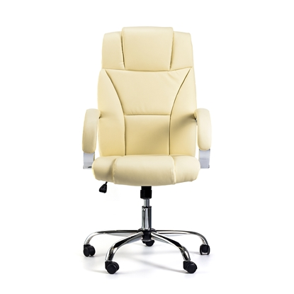 Picture of Aida Director s Chair, eco-leather, cream