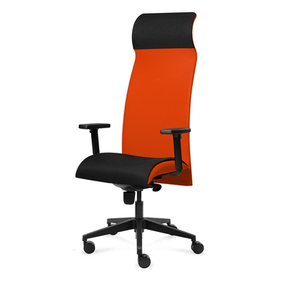 Picture of Solium Executive Chair, ergonomic, orange