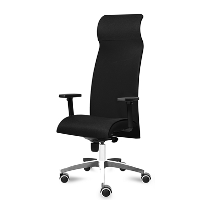 Picture of Tronhill ergonomic chair Solium Executive Lux, damask and mesh, black
