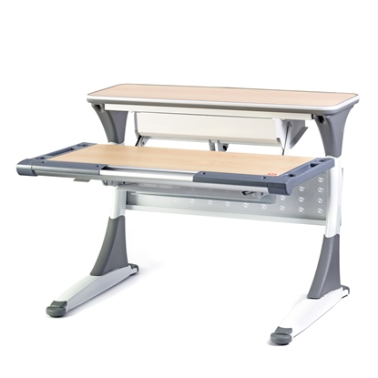 Picture of Work table Istudy, S100B, multifunctional, grey
