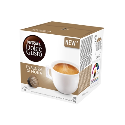 Picture of Nescafe Coffee capsule DG Caffe, Essenza di Moka, 16 pcs.