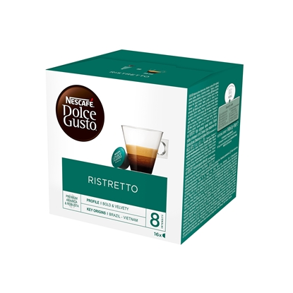 Picture of Nescafe Dolce Gusto Ristretto Coffee capsule, 16 pcs.