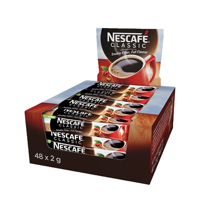 Picture of Nescafe Classic Instant coffee, 2 g, in sachets, 48 pcs.