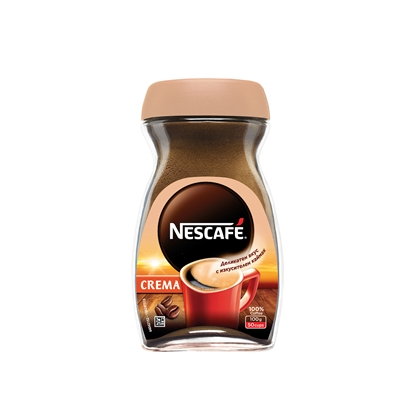 Picture of Nescafe Classic Crema Instant coffee, 100 g, in a box