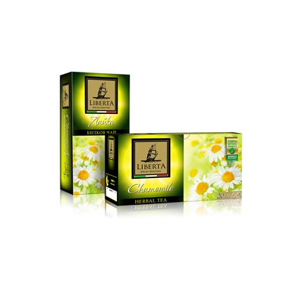 Picture of Liberta Camomile Herbal tea, 1.0 g, in sachets, 20 pcs.