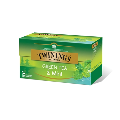 Picture of Twinings Mint Green tea, 2 g, in sachets, 25 pcs.