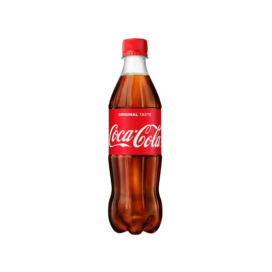 Picture of Coca-Cola Carbonated drink , 500 ml can, in a plastic bottle