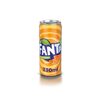 Picture of Fanta Orange Carbonated drink , 330 ml can