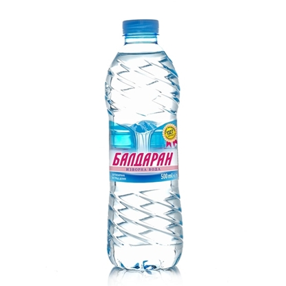 Picture of Baldaran Spring water, 500 ml, in a plastic bottle