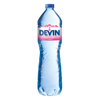 Picture of Devin Spring water, 1.5 L, in a plastic bottle