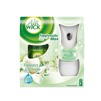 Picture of Air Wick Automatic Freshener Freshmatic Freesia & Jasmine, with refill, 250 ml