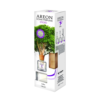 Picture of Areon Freshener Home Perfume Sticks, Lilac, 150 ml