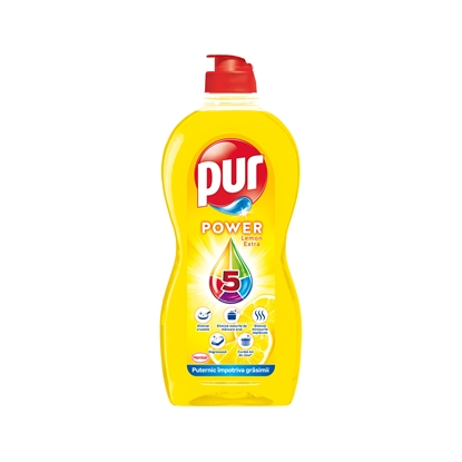 Picture of Pur Duo Power dishwashing detergent, lemon, 450 ml