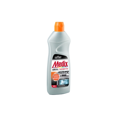 Picture of Medix soap for cleaning stoves and grills Expert Grill, active gel, 500 ml