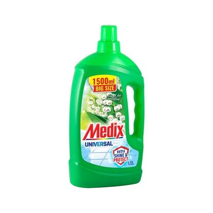 Picture of Medix Universal Cleaner Express & Shine Lily of the Valley, 1.5 L, blue