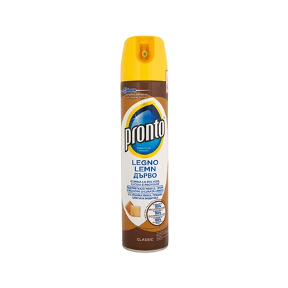 Picture of Pronto soap for cleaning furniture and wood, aerosolis, 300 ml