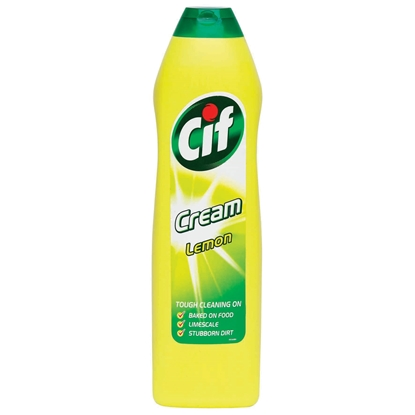 Picture of Cif Cream Detergent Lemon Universal, 500 ml