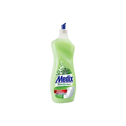 Picture of Medix Beauty Balsam Dishwashing detergent Lily of the valley, 900 ml, green