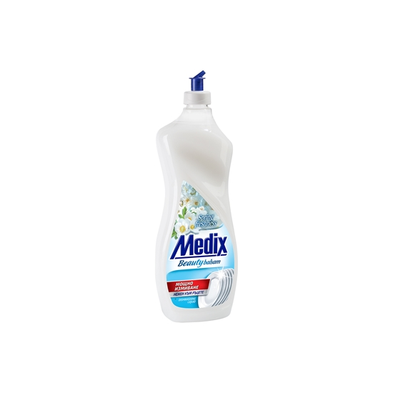 Picture of Medix Beauty Balsam Dishwashing detergent Spring Freshness, 900 ml, white