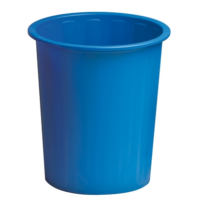 Picture of Fabio Waste Basket 14 L, plastic, blue