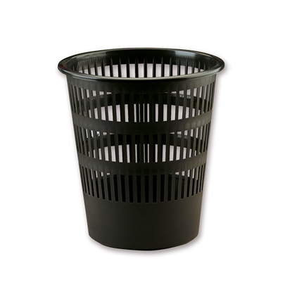 Picture of Fabio Waste-Paper Basket 12 L, plastic, black