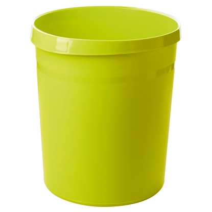 Picture of HAN Grip Trend Waste-Paper Bin, 18 L, plastic, light green