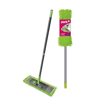 Picture of York Euro Salsa Mop, 45 x 14 cm, handle 140 cm