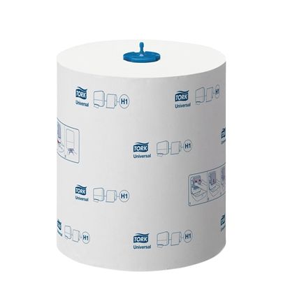 Picture of Tork Matic H1 Hand towel roll, single-ply, cellulose, 280 m, 1170 cuts , 6 pcs.