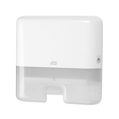 Picture of Tork Express H2 Multifold Hand towel dispenser, white