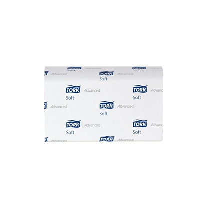 Picture of Tork Advanced H2 Hand towels, two-ply, cellulose, 180 cuts, 21 pcs.