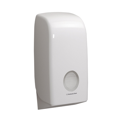 Picture of Kimberly-Clark Aquarius toilet paper batch dispenser