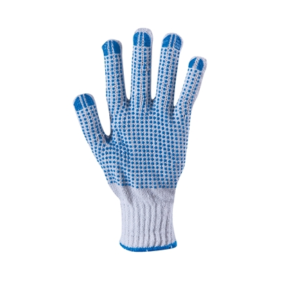 Picture of Gloves Plover, jersey, with blue PVC drops