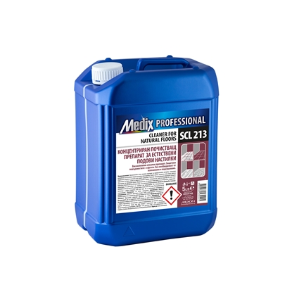 Picture of Medix Professional Cleaner Concentrate for natural floor covers,  SCL 213, 5 l