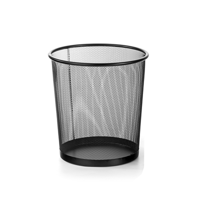 Picture of Metal Bin, 9.7 L, mesh metal, black