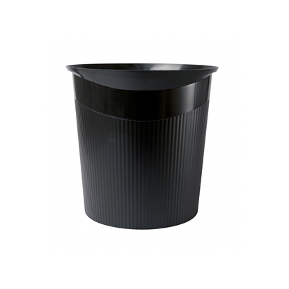 Picture of HAN Loop Waste-Paper Bin, 13 L, plastic, black