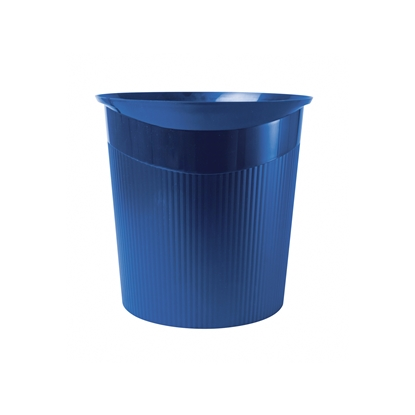 Picture of HAN Loop Waste-Paper Bin, 13 L, plastic, blue