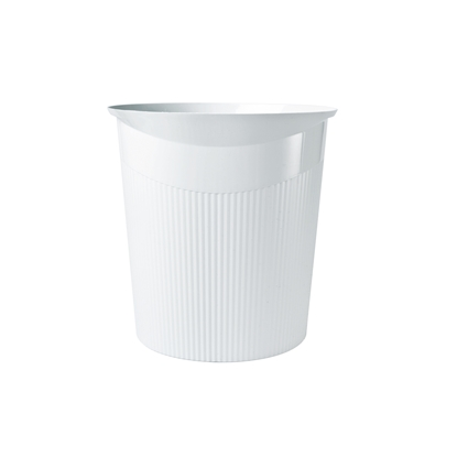 Picture of HAN Loop Waste-Paper Bin, 13 L, plastic, white