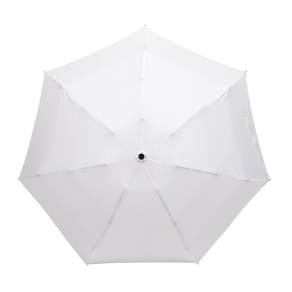 Picture of TOPS Umbrella Shorty, with bendable handle and case, white