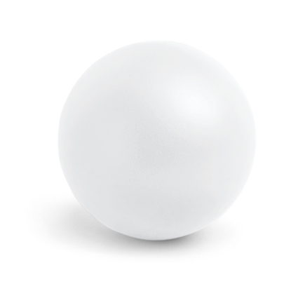 Picture of Hi!dea Antistress ball, diameter 50 mm, white