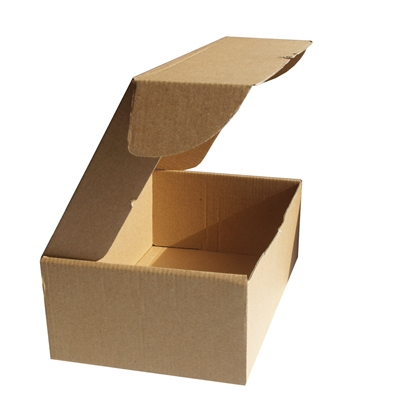 Picture of Box for parcels, 235 x 200 x 85 mm, cardboard