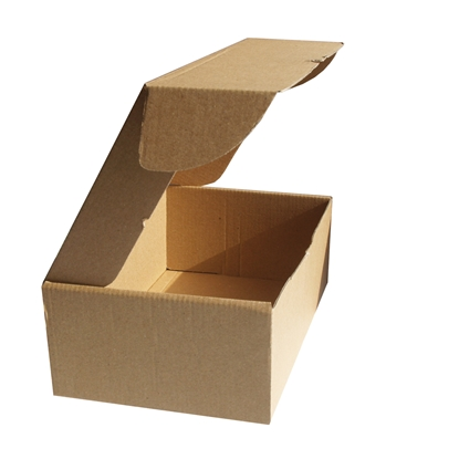 Picture of Box for parcels, 360 x 240 x 70 mm, cardboard