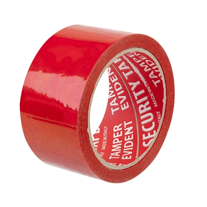 Picture of Adesivi Security tape, 50 mm x 50 m, red
